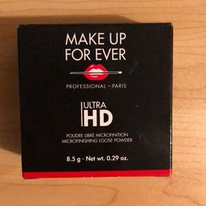 Brand new Makeup Forever ultra HD setting powder